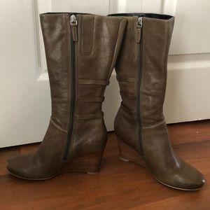 8554f257c25 Ecco Shoes - Ecco wedge heel boots